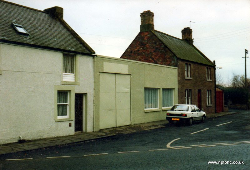 1992 photograph of single storey building